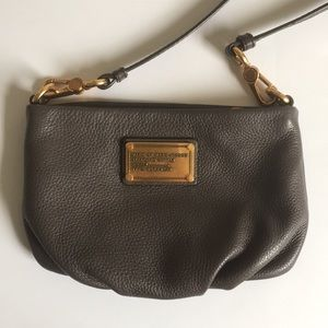 Marc by Marc Jacobs grey over the shoulder bag